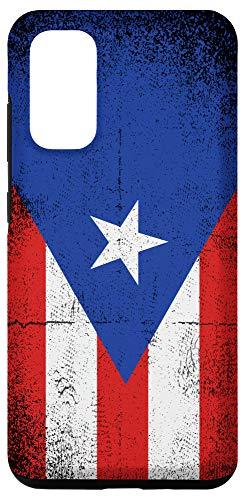 Galaxy S20 Vintage Puerto Rican Flag Puerto Rico Boricua Patriotic Case