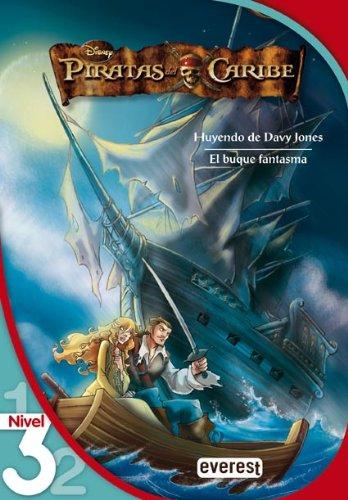 Piratas del Caribe 2. Huyendo de Davy Jones. El buque fantasma. Lectura Nivel 3 (Leo con Disney)