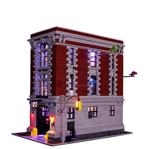 GhostBusters本社ビルディングブロックモデル - LEDライトセット75827(注:モデルには含まれていません)