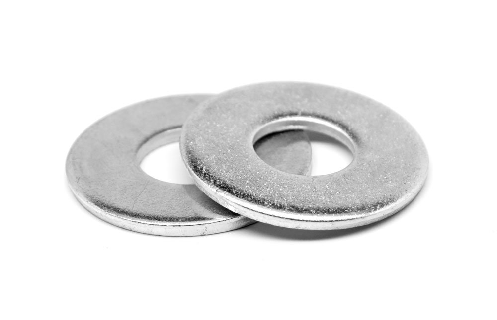 #12 Cup Washer//Countersunk Finishing Washer Low Carbon Steel Nickel Plated Pk 100