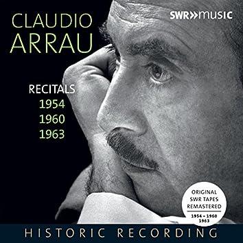 Piano Recitals 1954, 1960 & 1963