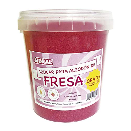 FRESA | Algodón de Azúcar 1200 gr (200gr. GRATIS)