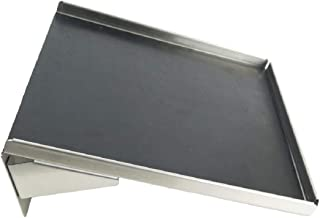 System X SVS 245 Stainless Steel Angled Shelf, 10 Inches by 8 Inches