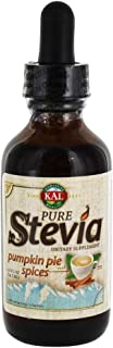 KAL Pure Stevia Liquid Extract, Pumpkin Spice, White, 1.8 Fluid Ounce