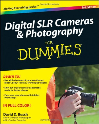 Price comparison product image Digital SLR Cameras and Photography For Dummies