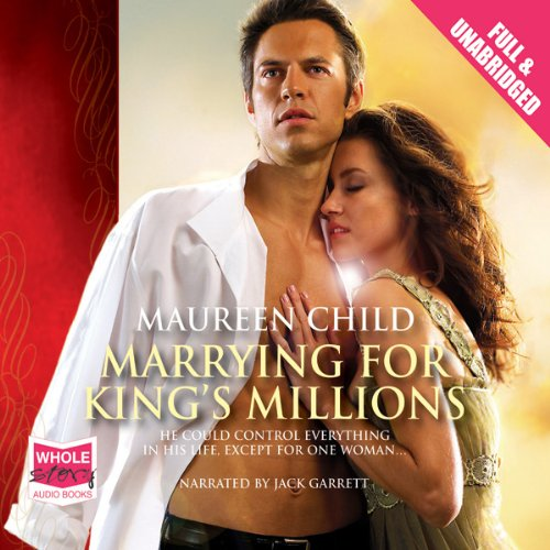 Marrying for King's Millions audiobook cover art