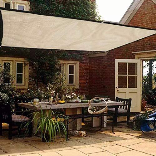 Beige schaduw Netting Tuin Zomer Huis 90% Zonwering Doek Schaduw Doek Net Voor Plant Kas Cover Zeilen Multi- Size
