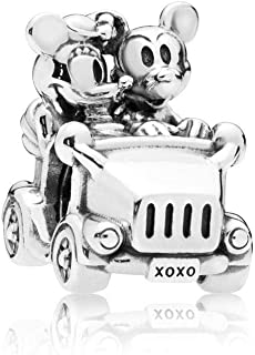 Pandora 797174 Silver Disney Mickey   Minnie Car Charm