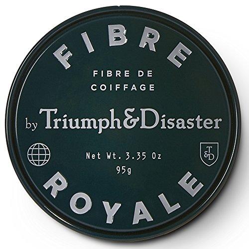 Fibre Royale 95g Styling Haarpaste-Triumph & Disaster Fiber Royale Premium Nicht-Volumen Styling Haarpaste mit Bienenwachs Arganöl & Kawakawa - Unisex Natürlicher Starker Halt für Männer und Frauen