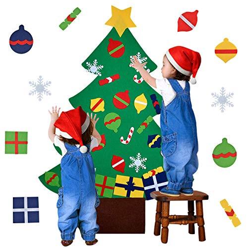 Arbre de Noël en feutrine à décorer