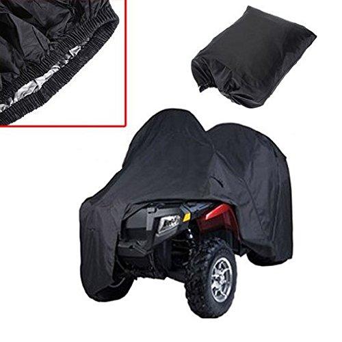 logas Quad ATV-Deckel schwarz Wasserdicht Four Wheeler Speicher-Cover-Größe L/XXL/XXXL
