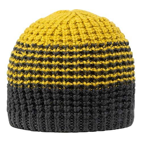 GIESSWEIN Mütze Riepenwand - Merino Wool Cap, Warme Strickmütze für Damen & Herren, gefütterte Beanie aus Merinowolle, Fleece-Fütterung