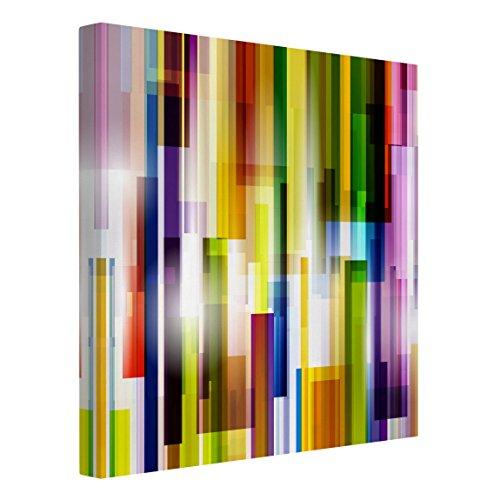 Bilderwelten Leinwandbild - Rainbow Cubes - Quadrat 1:1, 60cm x 60cm