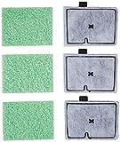 Interpet - Filtros de Repuesto CF1 para acuarios | Paquete de Mantenimiento de Tres Meses para el Filtro CF1 del Cartucho Interno