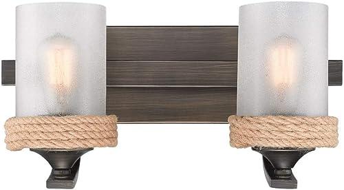 popular Golden online sale Lighting 1048-BA2 GMT-CS Chatham wholesale Bath Fixture, Gunmetal Bronze online