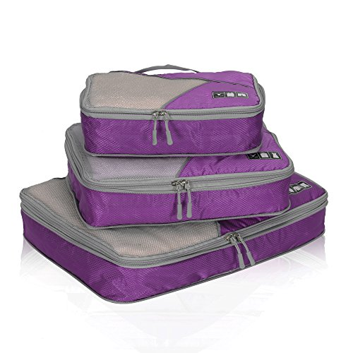 Hynes Eagle Travel Compression Packing Cubes Expandable Packing...