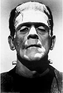 Buyartforless Frankenstein 1931 Boris Karloff 36x24 Black and White Movie Art Print Poster Wall Decor Photograph Famous Classic Hollywood Film