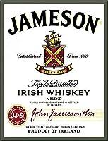 なまけ者雑貨屋 Jameson Irish Whiskey アメリカン 雑貨 アンティーク インテリア プレート ブリキ メタル 看板