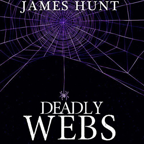 Deadly Webs audiobook cover art