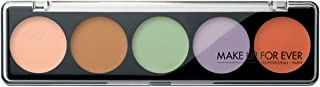 Make Up For Ever 5 Camouflage Eyeshadow Palettes - 10 g, 5 Professional Corrective Shade