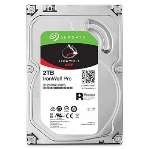 """Seagate Inronwolf Pro 2TB 2000GB Serial ATA III - Disco rigido da 3,5"""", 2000 GB, 7200 rpm, Serial ATA III, 128 MB, HDD (ricondizionato)"""