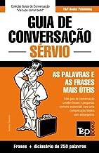 Guia de Conversação Português-Sérvio e mini dicionário 250 palavras