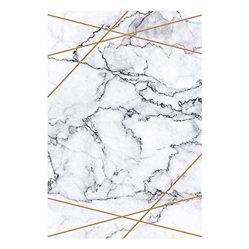 Home Deluxe - Teppich: Marmori - Größe: 120 x 180 cm - Florhöhe 5mm