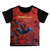 Marvel Boy's Plain Regular fit T-Shirt (DSM0091.2 Red 3-4 Years)