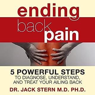 Ending Back Pain audiobook cover art