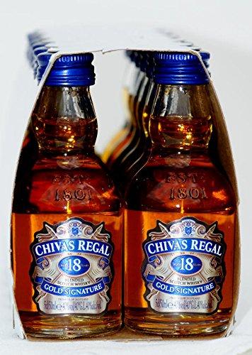 Chivas Regal 18 Years 12 x 0,05 Liter