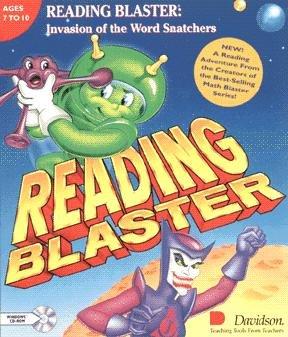 Reading Blaster, Invasion of the Word Snatchers (輸入版)
