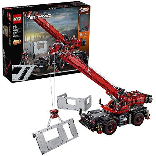 LEGO®-Technic La grue tout terrain Jeu Garçon et Fille 11 Ans et Plus, Jeu de Construction, 4057 Pièces 42082