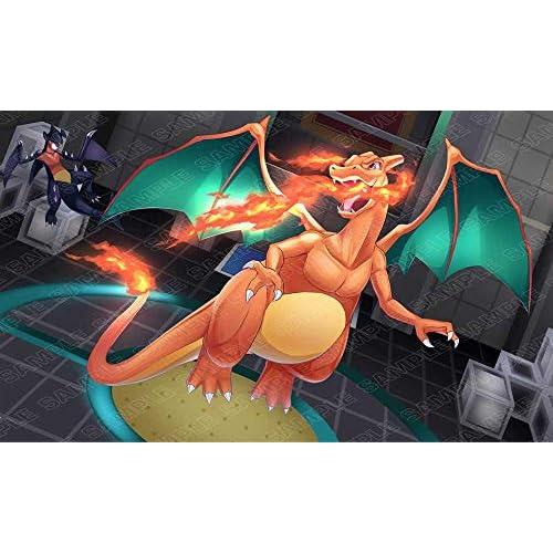 Andycards Tappetino Charizard e Garchomp - Playmat da Gioco Pokémon
