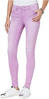 Celebrity Pink Juniors Flocked Skinny Jeans