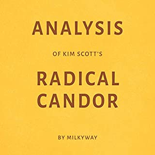 Analysis of Kim Scott's Radical Candor audiobook cover art