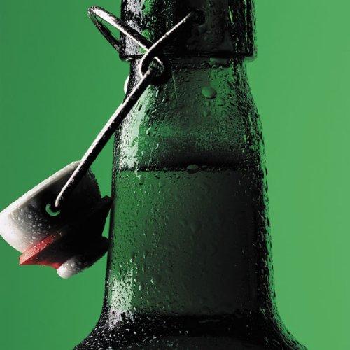 Grußkarte–Zum 18. Geburtstag Karte–Bier Flasche