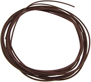 28AWG Copper Tinned Standard Hook Up Wire UL Style 1007/1569 - Brwon - 15FT