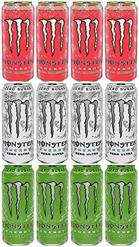 Monster Energy Ultra Sampler Pack, …