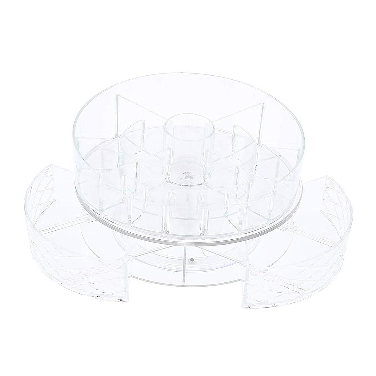 免除するお祝いママToygogo 360度回転化粧品収納ラック 化粧品収納ボックス コスメボックス 大容量 化粧品ケース - #2