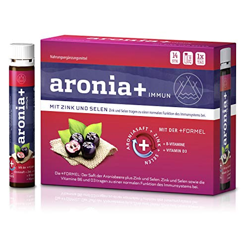 aronia+ immun Trinkfläschchen, 14 St. Ampullen