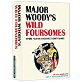 MAJOR WOODY'S WILD FOURSOMES - An Adult Strategy Game Where Four-in-A-Row Meets Dirty Names