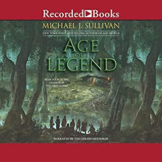 Age of Legend audiobook cover art