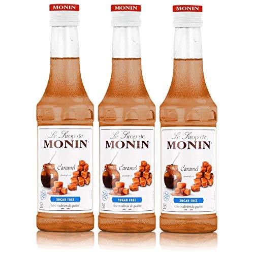 Monin Sirup Caramel Light, 0,25L 3er Pack