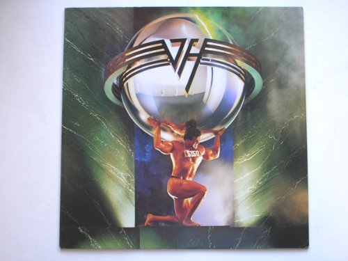 Van Halen 5150 LP Warner Bros W5150 EX/EX 1986 with inner