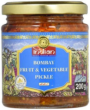 TRULY INDIAN Bombay Indische würzige Obst- und Gemüsemischung 200 g