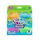 Learning Resources- Pack de 4 Unidades de Masilla Playfoam, Juguete para Esculpir, Material para Manualidades y para Juegos sensoriales y creativos, Color Orange, Blue, Green, Purple (EI-2050)