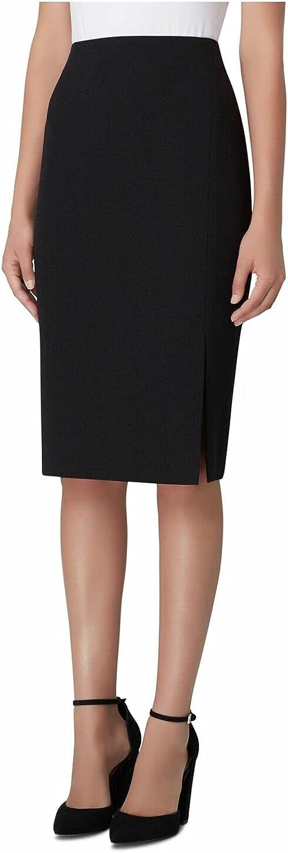 Tahari ASL Women's Petite Pencil Skirt with Slit