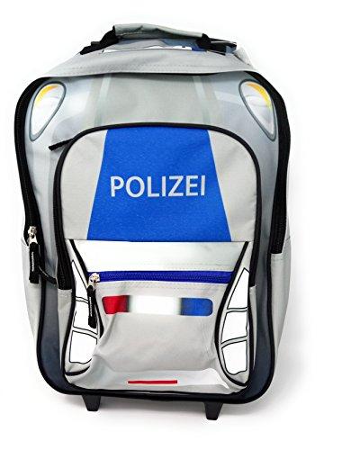 Fabrizio Kindertrolley Polizei hellgrau