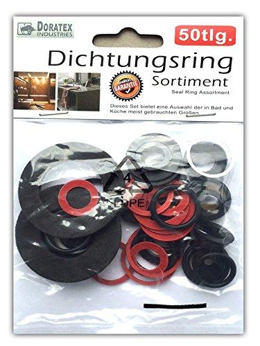 50tlg. Dichtungsringe Set Dichtung Satz O-Ring Gummidichtung Sortiment