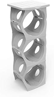 Water Dispenser Bottle Rack Grey 36 x 16 x 33 cm